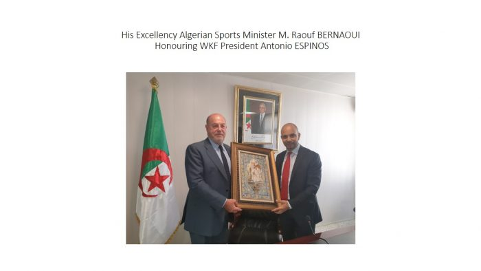 His Excellency Algerian Sports Minister M